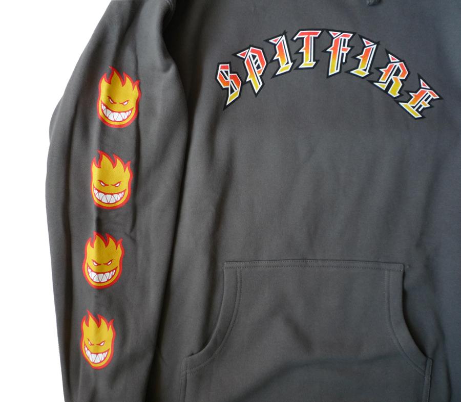 SpitfireOldEBigheadFillSleeveHoodieCharcoal2