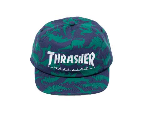 210601ThrasherDinoSnapbackCap